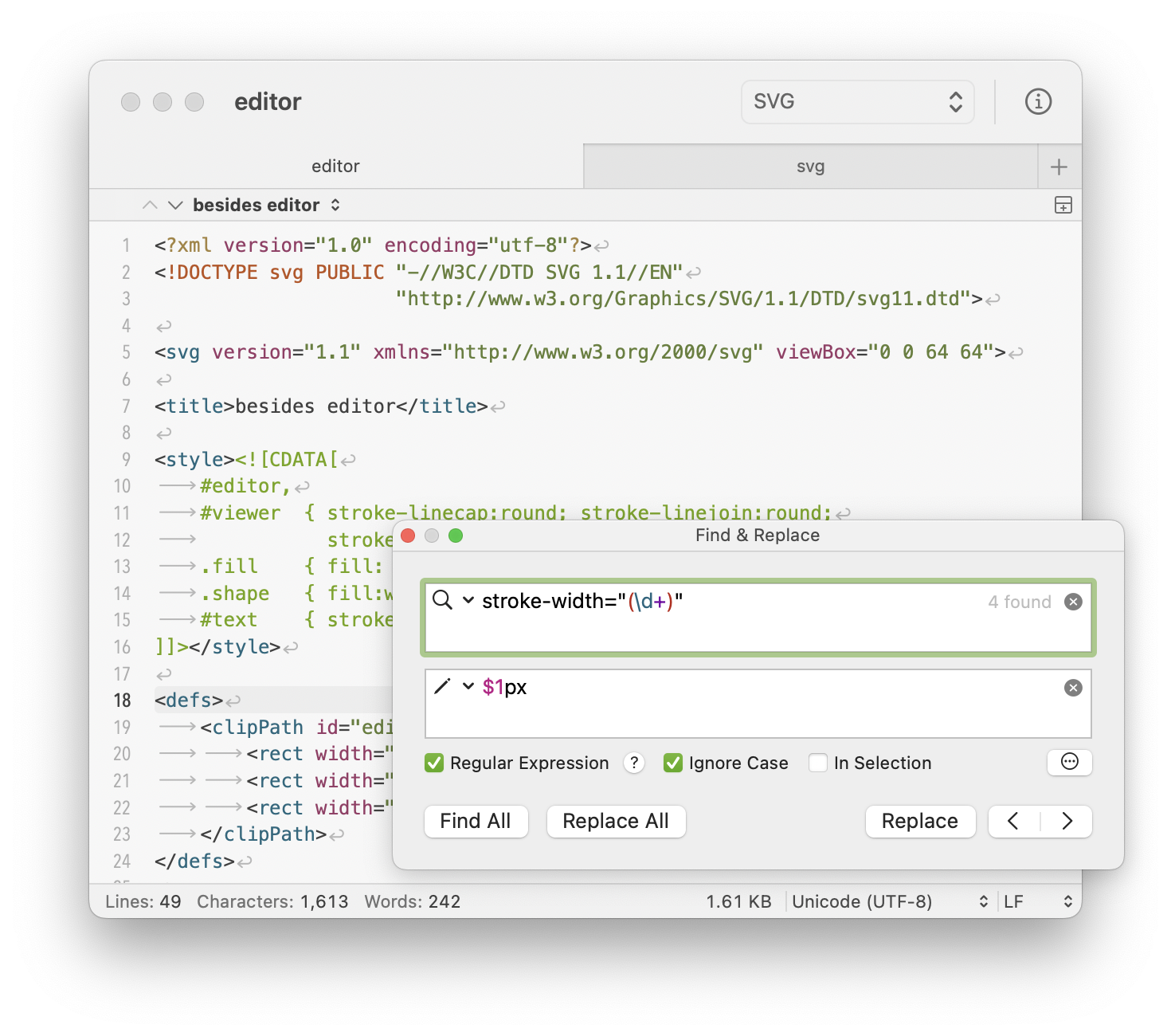 CotEditor  Text Editor for macOS